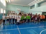 Городские соревнования по пионерболу среди 3-4 классов.