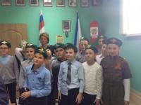 В гостях у Союза пограничников Крыма.