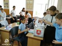 Выборы Президента штаба школьного самоуправления.