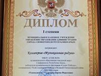 Итоги муниципального конкурса «Салют победы»